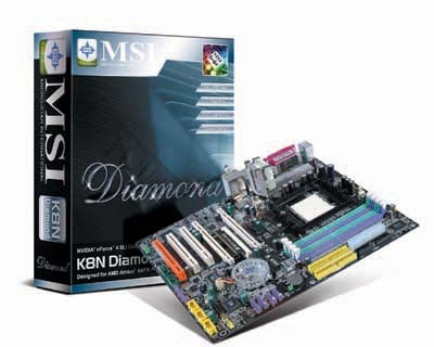 MSI Aims to Please Overclockers with Diamond Motherboard