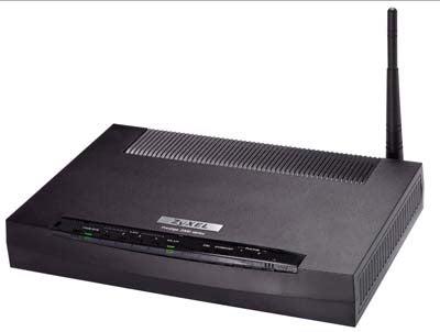ZyXEL Prestige 662HW 54Mbps Security ADSL Wireless Router