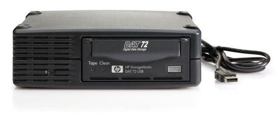 Hewlett Packard StorageWorks DAT 72 USB - UK Exclusive
