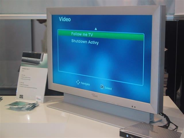 Ifa 2006 Fujitsu Siemens Showcases Follow Me Tv