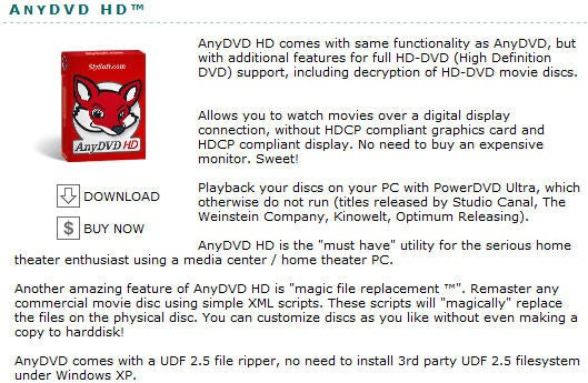 SlySoft Releases HD DVD Duplication Software | Trusted Reviews