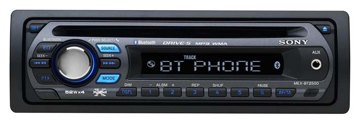 Sony Makes A2DP Capable Bluetooth Car Stereo