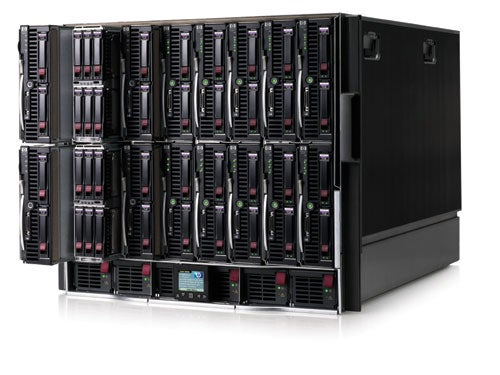 Hp Bladesystem C Class Blade Server Review Trusted Reviews