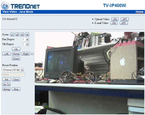 Trendnet TV-IP400W – Trendnet TV-IP400W Review | Trusted Reviews