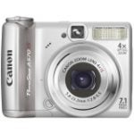 "PowerShot A570 IS 7.1 Megapixel Compact Camera - 5.80 mm-23.20 mm (2.5"" LCD - 4x Optical Zoom - 3072 x 2304 Image - 640 x 480 Video - PictBridge)"