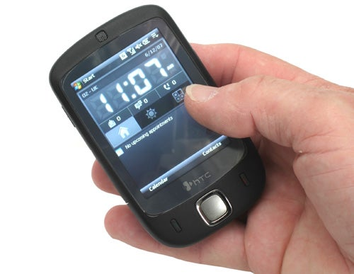 htc touch windows mobile smartphone review trusted reviews. Black Bedroom Furniture Sets. Home Design Ideas