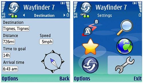 via wayfinder 7 navigator