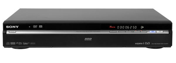 sony rdr hxd870 digital video recorder review trusted reviews rh trustedreviews com sony dvd recorder rdr-hx780 user manual sony dvd recorder rdr-gx350 instruction manual