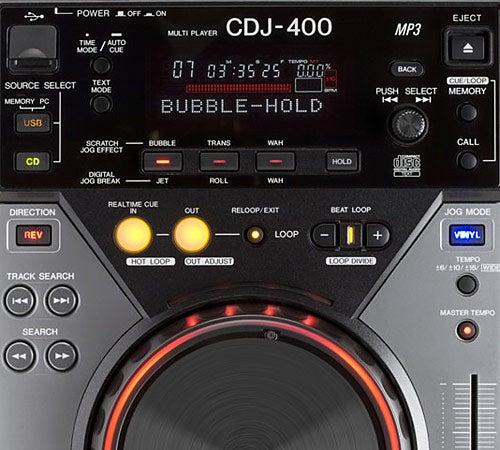Pioneer CDJ-400 Digital Deck Review   Trusted Reviews