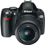 "D60 10.2 Megapixel Digital SLR Camera Body with Lens kit - 18 mm-55 mm (2.5"" LCD - 3x Optical Zoom - 3872 x 2592 Image)"