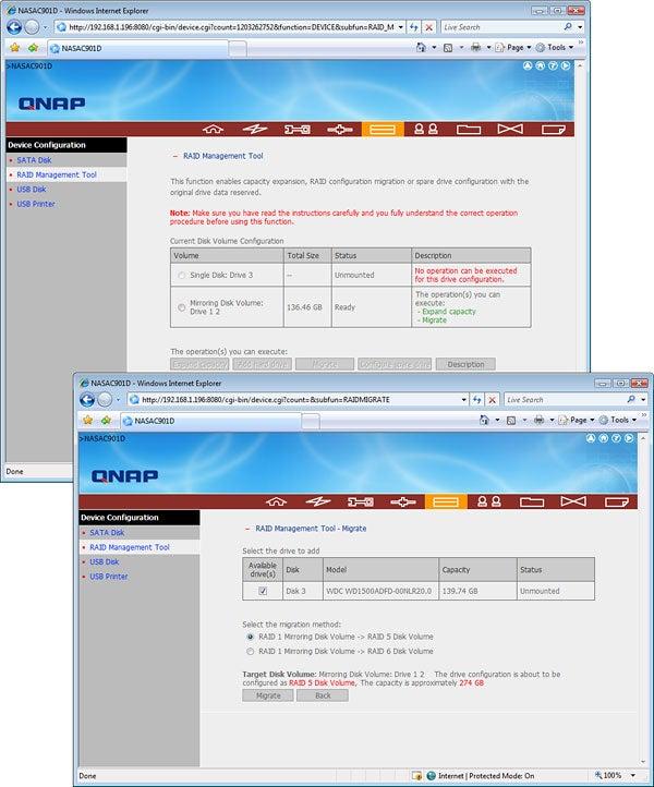 QNAP TS-409 Turbo NAS – Screenshots Review   Trusted Reviews