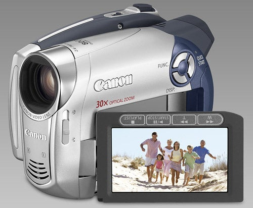 Canon DC201 DVD Camcorder Review