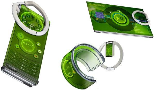 Nokia Morph Shape Shifting Touchscreen Super Phone