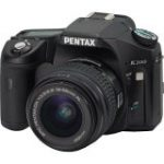 "K200D 10.2 Megapixel Digital SLR Camera Body with Lens kit - 18 mm-55 mm (2.5"" LCD - 3.1x Optical Zoom - 3872 x 2592 Image - PictBridge)"