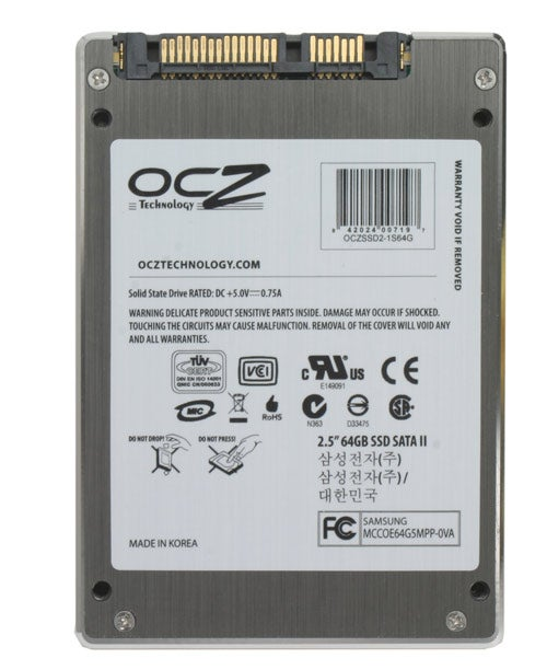Ocz 64gb sata ii ssd review trusted reviews for Domon sata 3 64gb