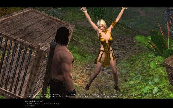 age of conan naked girl № 180491