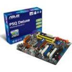 P5Q Deluxe Desktop Motherboard - Intel P45 Chipset (ATX - Socket T LGA-775 - 1600 MHz, 1333 MHz, 1066 MHz, 800 MHz FSB - 16 GB DDR2 SDRAM - Ultra ATA/133 ATA-7 - 7.1 Channel Audio)