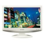 "AQUOS D1E LC19D1EWH 19"" White LCD TV (Widescreen, 1366x768, 1500:1, Freeview, HDTV)"