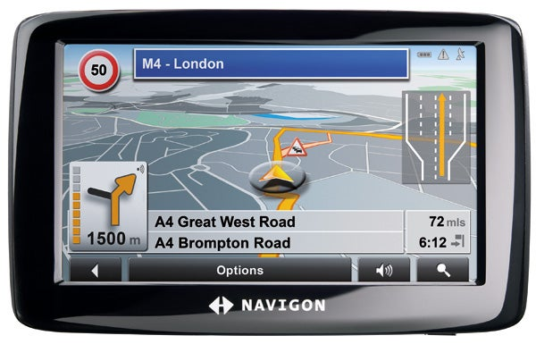 navigon 2110 max sat nav review trusted reviews rh trustedreviews com NAVIGON 5110 NAVIGON 5110