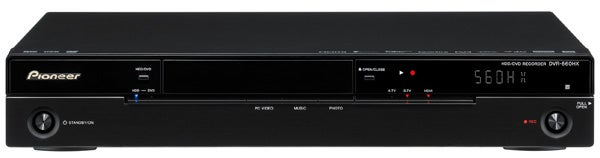 pioneer dvr 560hx dvd hdd recorder review trusted reviews rh trustedreviews com Q-See DVR Manual H 264 DVR System Manuals