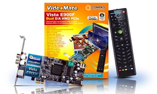 Compro Announces E900F PCI Express TV Tuner Card