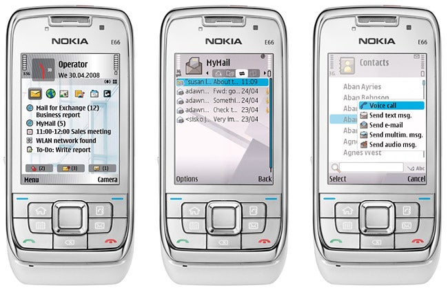 applications pour nokia e66