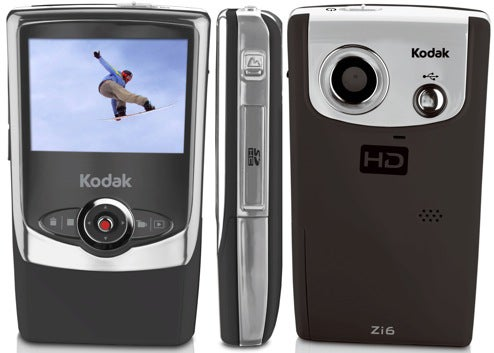 kodak zi6 does 720p youtube uploads trusted reviews rh trustedreviews com Kodak Zi6 User Guide Kodak Zi