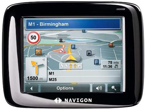 navigon 2100 sat nav review trusted reviews rh trustedreviews com NAVIGON 5110 NAVIGON 5110