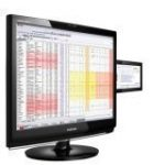 "SyncMaster 2263DX Black 22"" + 7"" Widescreen LCD Monitor (1680x1050, 5ms, DVI, HDMI)"
