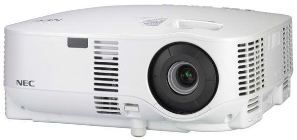 nec projector hook up