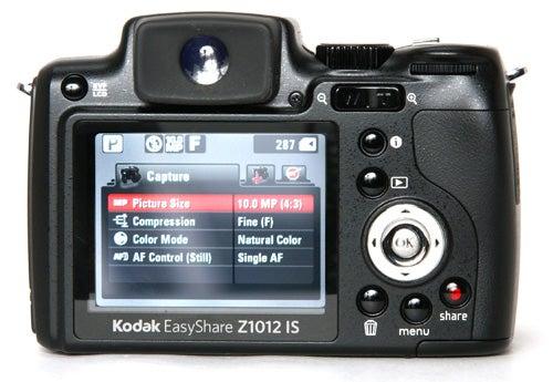 Kodak EasyShare Z1012 IS – Kodak EasyShare Z1012 IS Review