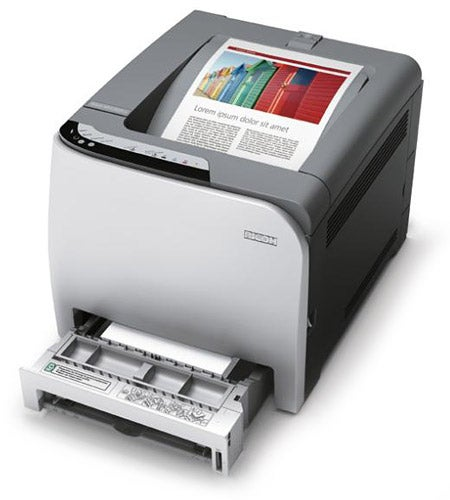 Ricoh Aficio SPC220N Colour Laser Printer Review | Trusted