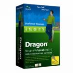 Dragon NaturallySpeaking v.10.0 Preferred Wireless with Noise-cancelling headset microphone (Voice Recognition - Complete Product - Standard - 1 User - Retail - PC - English)