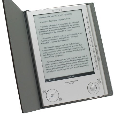 Sony Reader PRS-505 - eBook Reader Review | Trusted Reviews