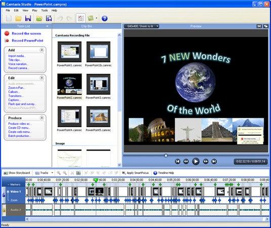 اخر اصدار من افضل برامج عمل الشروحات المتحركه Camtasia Studio v.6