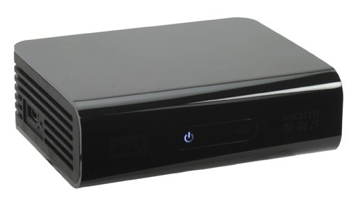 Western Digital WD TV HD front angle