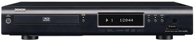 Denon DVD-1800BD Blu-ray Player Review