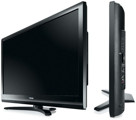 toshiba regza 42zv555d 42in lcd tv review trusted reviews. Black Bedroom Furniture Sets. Home Design Ideas