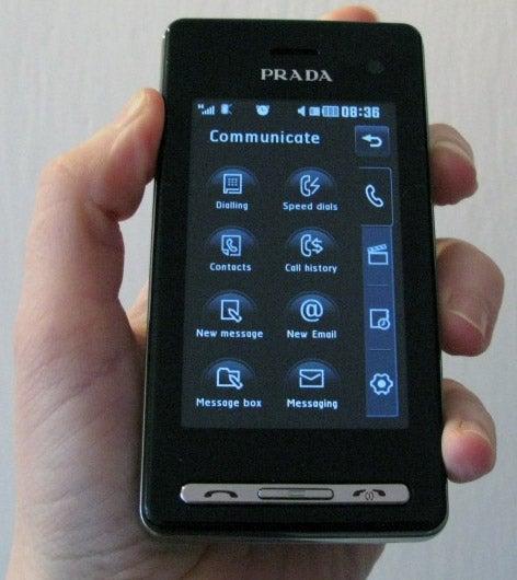 First Image of The LG Prada II