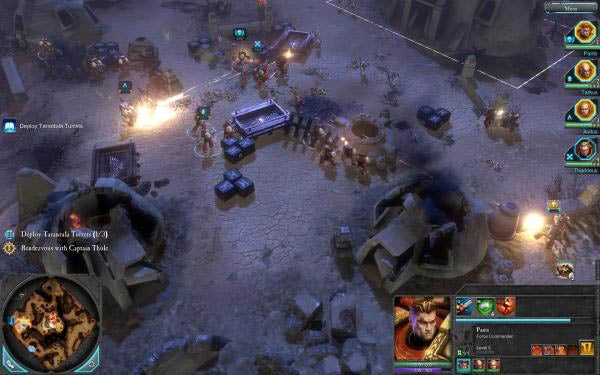 warhammer 40 000 dawn of war ii gameplay