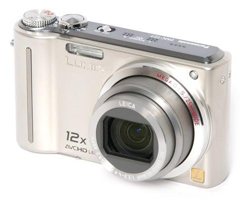 Panasonic Lumix DMC-TZ7 front angle