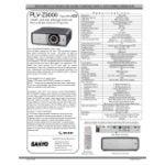 PLV-Z3000 Home Cinema Projector (1920 x 1080 - 16:9 - 16.53lb)