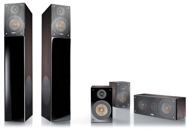 teufel theater 3 hybrid home cinema speakers review. Black Bedroom Furniture Sets. Home Design Ideas