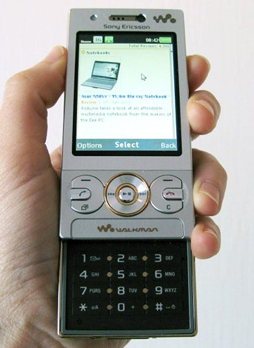 sony ericsson w705 review trusted reviews rh trustedreviews com Sony Ericsson W900 Sony Ericsson W595