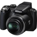 "Coolpix P90 12.1 Megapixel Bridge Camera - 64 mm-110.40 mm - Matte Black (3"" LCD - 24x Optical Zoom - 4000 x 3000 Image - 640 x 480 Video)"