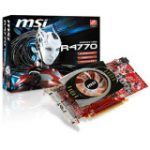 Radeon HD 4770 Graphics Card (ATi Radeon HD 4770 750MHz - 512MB GDDR5 SDRAM 128bit - PCI Express 2.0 x16 - DVI-I - Retail)