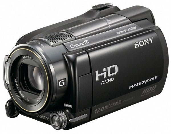 sony handycam hdr xr520 review trusted reviews rh trustedreviews com manual de videocamara sony handycam manual camara video sony carl zeiss