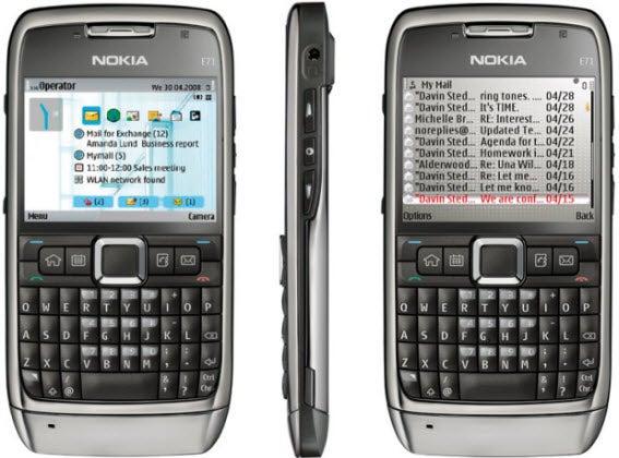 Nokia e71 internet settings — pic 1
