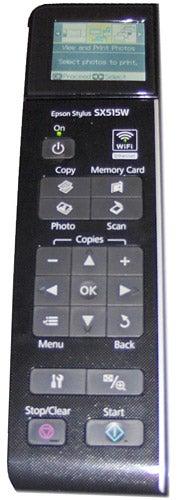 Epson Stylus SX515W interface