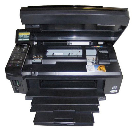 Epson Stylus SX515W scanner